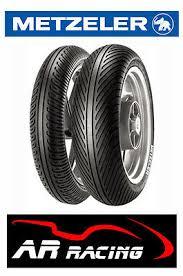 <b>Metzeler Racetec Rain</b> Wet Race Tyres Pair 120/70/17 K1 Soft ...