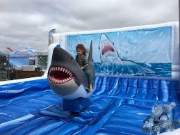 inflatable mechanical shark ride lets party inflatable mechanical shark ride