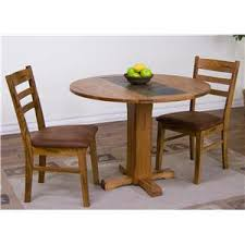 designs sedona table top base: sunny designs sedona  piece drop leaf table amp chair set