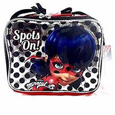 Lunch <b>Bag</b> - <b>Miraculous</b> Ladybug - Sliver Spots On! Kit Case New ...