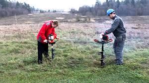Мотобур <b>ADA</b> Ground Drill 5 против <b>ADA</b> Ground Drill 7.mp4