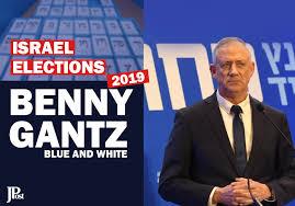 Benny Gantz, Blue and White - Israel Elections - Jerusalem Post