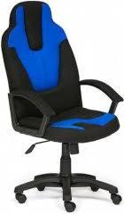 Купить <b>кресло</b> и <b>стул Tetchair Neo</b> 3, черный/синий по выгодной ...