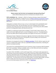 marine industry job fair set for fort lauderdale marine industry job fair at flibs 10 1 14 page 001