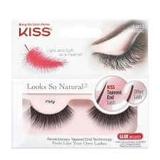 <b>Накладные ресницы</b> Kiss <b>Looks so</b> Natural Eyelashes Flirty ...