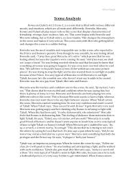 romeo and juliet analytical essay  www gxart orgromeo and juliet analysis essayscene analysis essay scene analysis lt br gt romeo and juliet s