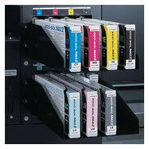 Roland ESL4-4LM <b>ECO</b>-<b>SOL MAX 2 Light Magenta</b> Ink Cartridge ...