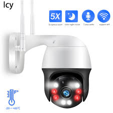 <b>Icy 1080P</b> PTZ IP Camera 5X Zoom Auto Metal Outdoor Wireless ...