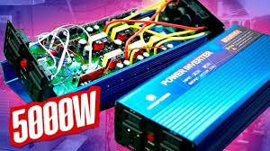 Мощный <b>преобразователь</b> 12-220 5000W обзор тест - YouTube