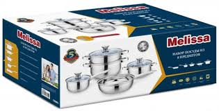 "<b>Набор посуды Attribute</b> ""<b>Melissa</b>"", 8 предметов. ASS402 — купить ..."