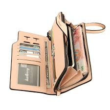 Baellerry <b>Purse</b> Leather <b>Wallet Women Long</b> Pink <b>Woman Wallets</b> ...