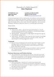 cv soft skills example event planning template resume examples and skills