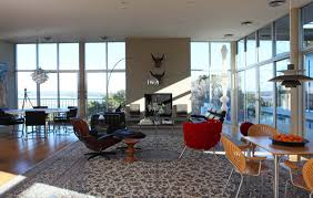 dwelling dining set patterned: amazing open plan sunroom living room with dining presenting eames lou