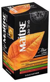 Купить <b>Набор чайный</b> Maitre de The Матэ <b>ассорти с</b> добавками в ...