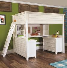 bunk bed with office underneath white wooden modern bunk beds adorable home office desk full size