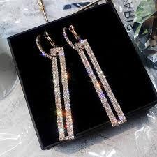 FYUAN Fashion <b>Korean</b> Style Small Circle Stud <b>Earrings Luxury</b> ...