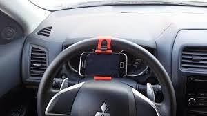 Крепление <b>держатель</b> телефона навигатора в машину на <b>руль</b> ...