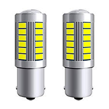 2pcs 7506 1156 1157 P21W BA15S 33SMD LED Car ... - Amazon.com