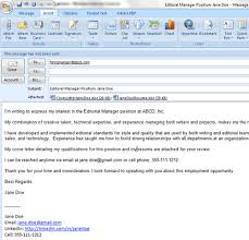 letter cover letter email cover letter ecover letter example email sending cover letter by email