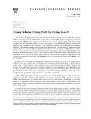 Ducati hbr case analysis