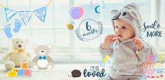 Приложения в Google Play – Малыши Фото - <b>Стикеры</b> на <b>детские</b> ...