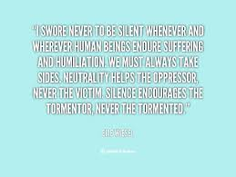 Elie Wiesel Quotes About Humanity. QuotesGram via Relatably.com