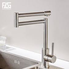 <b>FLG</b> 304 Stainless Steel <b>Kitchen Sink</b> Taps <b>360</b> Degree Rotatable ...