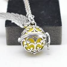 Living Lockets Pendant For Women Pregnancy Balls <b>Lava</b> Stone ...