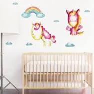 ON SALE Woodland wall decor, Boys wall deco, Birds <b>wall decal</b> ...