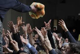 Αποτέλεσμα εικόνας για διανομη τροφιμων θεσσαλονικη