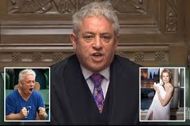 Farewell to Bercow, a little man with a big ego and an attention ...
