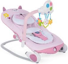 <b>Шезлонг</b> для новорожденных <b>Chicco Balloon</b>, Miss Pink — купить ...