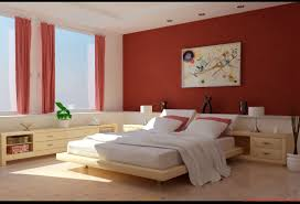 red wall paint black bed:  maxresdefault