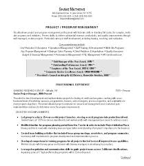 resume templates project manager residential or commercial resume resume samples for project managers