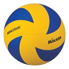 <b>Мяч волейбольный MIKASA MVA380K</b>, размер 5 — купить в ...