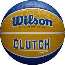 <b>Мяч баскетбольный Wilson Clutch</b> Bskt Yebl №7, желтый, синий ...