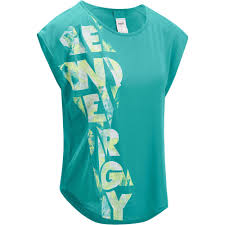 Женская свободная <b>футболка</b> для фитнеса Energy | <b>Domyos</b> by ...