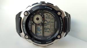 <b>Casio AE</b>-<b>2100W</b>-<b>1A</b>. ОбзорReview - YouTube