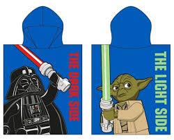 Купить <b>Полотенце</b>-пончо <b>Lego</b> Star Wars Дарт Вейдер и Йода ...