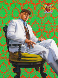Now On View: <b>LL Cool J</b> by Kehinde Wiley | National Portrait Gallery