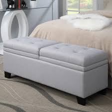 upholstered bedroom bench seat beauty and function combine in this upholstered storage bench adding u