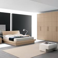 modern bedroom concepts: simple and modern bedroom design photo