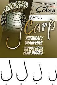 <b>Крючки COBRA Carp</b> chinu (10 шт) C807NSB-001, купить