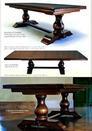 Round Dining Room Table Seats 12 Furniture Personable Dining Room Table Long Extra Round Tuscany