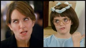 30 Rock Tina Fey Daughter Split - H 2012