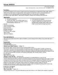 Professional resume writing services maryland