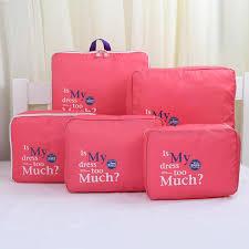 5 PCS Clothes Underwear Socks <b>Packing</b> Cube Storage <b>Bag Travel</b> ...