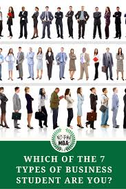 which of the types of business student are you no pay mba