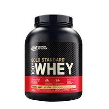 Optimum Nutrition <b>Gold Standard 100</b>% Whey™ – French Vanilla ...