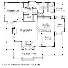 Fantastic House Plans Online   House Building Plans   House Design    Country home   porch schematic from plan by Family Home Plans  Not all house plan online